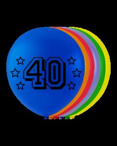Numerokumipallo 40