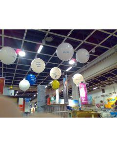 Jättimainospallopaketti Ilmari 5 kpl 80 cm painettuja jätti-ilmapalloja