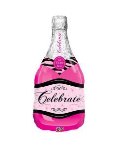 Pink Bubbly Wine muotofolio
