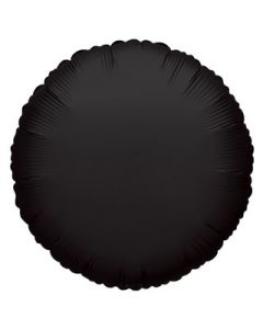 Foliopallo pyöreä musta 45 cm