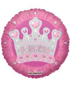 Birthday Princess foliopallo