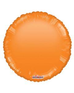 Foliopallo pyöreä oranssi 45 cm