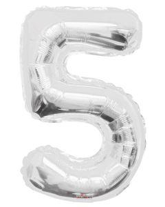 Iso Numero  5 hopea