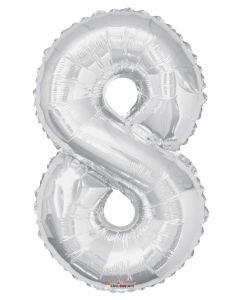 Iso Numero  8 hopea