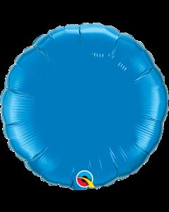 """Foliopallo pyöreä sininen 18""""  f"""