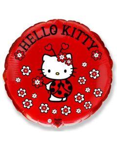Foliopallo Hello Kitty Leppis
