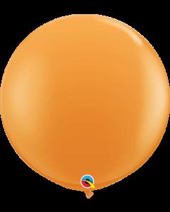 Qualatex, 90 cm kumipallo, oranssi