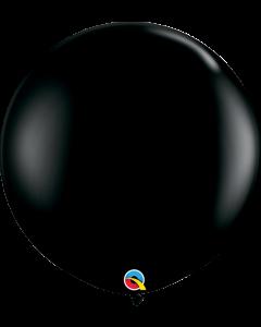 Qualatex, 90 cm kumipallo, musta