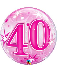 Bubbles 40 Pink