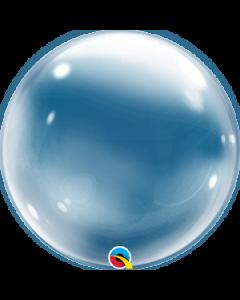 """Deco Bubble-pallo 20"""" läpinäkyvä"""