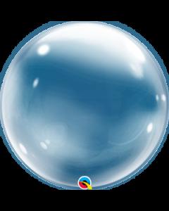 """Deco Bubble-pallo 24"""" läpinäkyvä"""