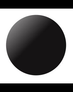 Kumipallo 60 cm musta