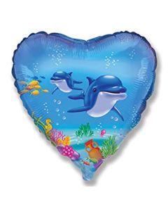 Foliopallo Delfiinit