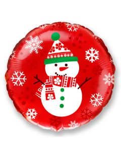 Lumiukko foliopallo