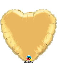 Sydänfoliopallo kulta