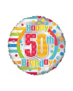 Foliopallo Happy 50th Birthday