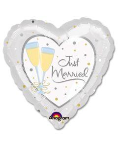 "Foliopallo Just Married 18"""