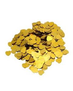 Sydänkonfetti kulta (50 g)