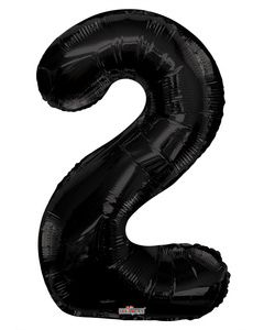 Iso Numero  2 musta