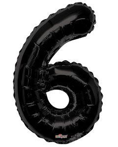 Iso Numero 6 musta