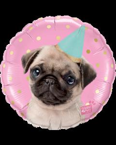 """Foliopallo Party Pug 18"""""""