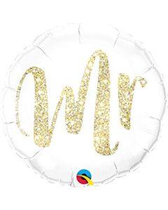 Mr Glitter gold foliopallo