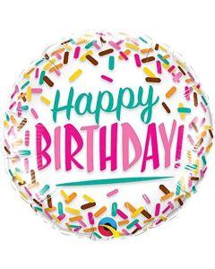 Foliopallo Birthday Sprinkles