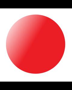 Kumipallo 60 cm punainen