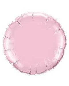 Foliopallo pyöreä vaal.pun 45 cm blanco