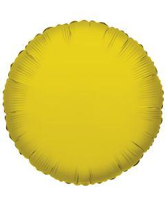 Foliopallo pyöreä kulta 45 cm blanco
