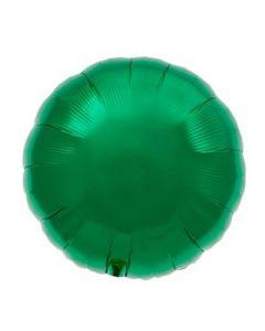 Foliopallo, 45 cm pyöreä tummanvihreä