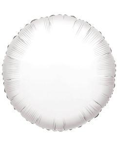 Foliopallo pyöreä valkoinen 45 cm blanco