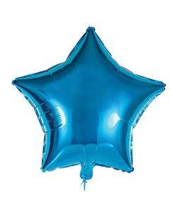 Foliopallo tähti sininen 45 cm blanco