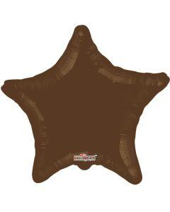 Foliopallo tähti ruskea 45 cm blanco