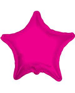 Foliopallo tähti pinkki 45 cm blanco