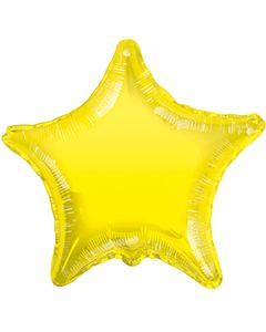 Foliopallo tähti keltainen 45 cm blanco