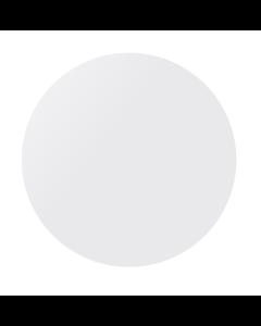 Kumipallo 60 cm valkoinen