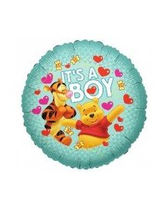 Foliopallo Nalle Puh It's a Boy