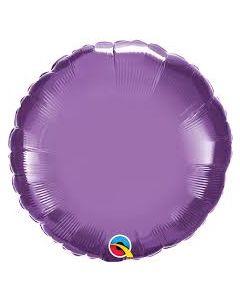 """Foliopallo pyöreä kromi violetti 18"""""""