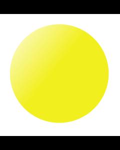 Kumipallo 60 cm keltainen