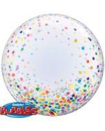 """Deco Bubble Confetti Dots 24"""""""