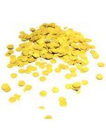 Pussikonfetti pyöreä 25 mm kulta (50 g)