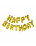 """Happy Birthday 16"""" kulta"""